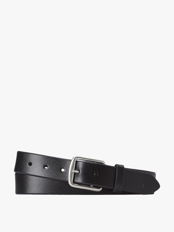 Saddle Logo Leather Belt