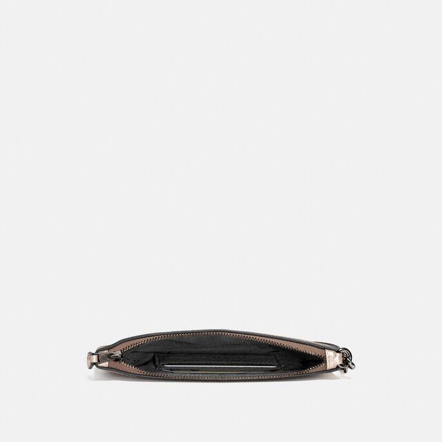 Metallic Small Wristlet