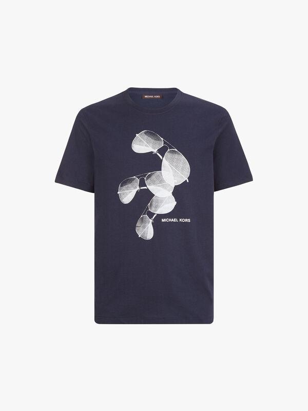 Aviator Print T-Shirt