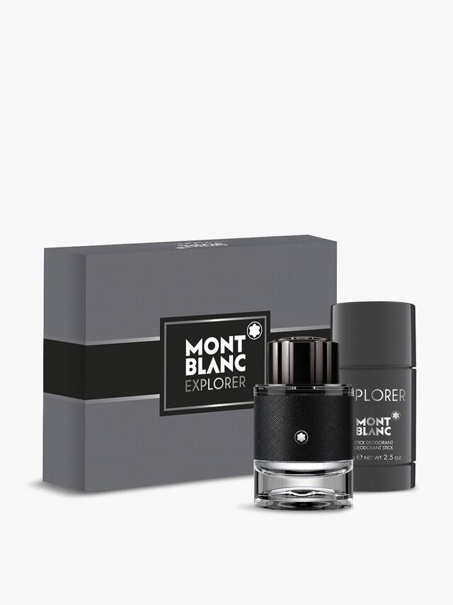 Montblanc Explorer Gift Set: Eau de Parfum 60ml + Deodorant Stick 75g