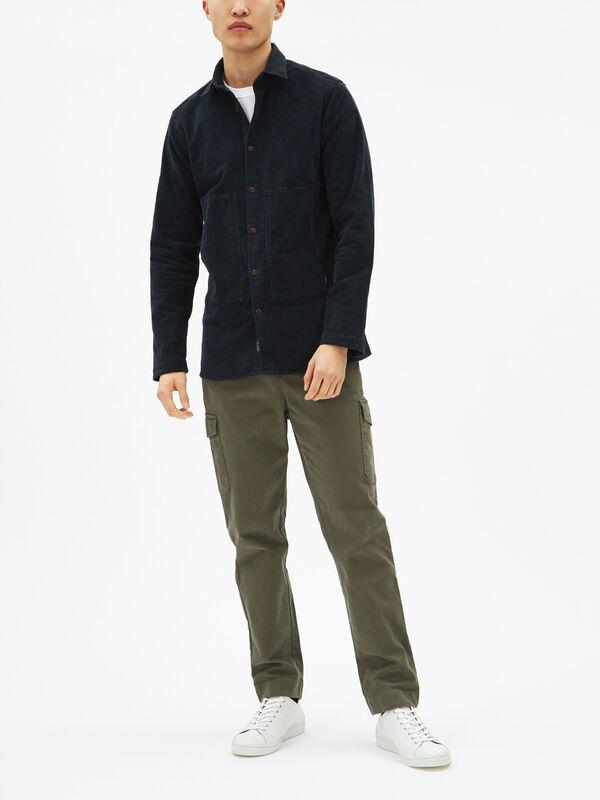 Lucky Cord Overshirt