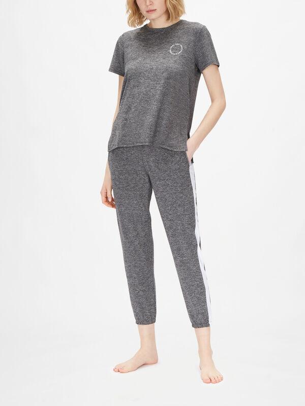 Technical Jersey Short Sleeve Sleep Top