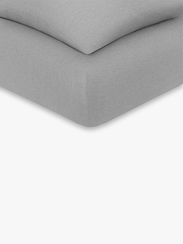 CK Harrison Heather Superking Fitted Sheet