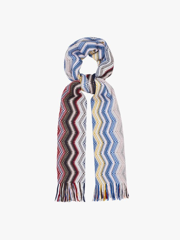 Graded Chevron Scarf
