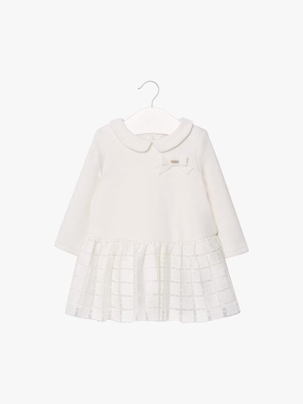 Textured Skirt Dress