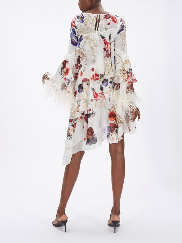 Flared Layered Dress