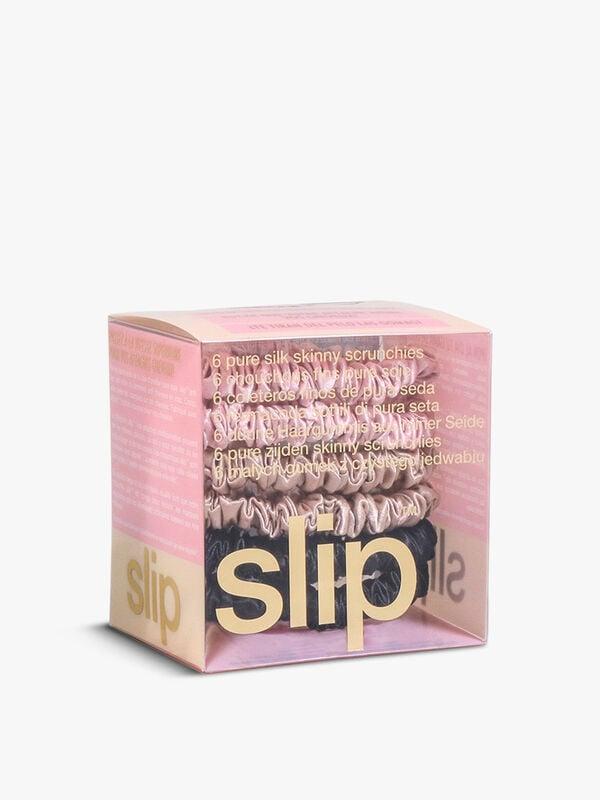 Pure Silk Skinny Scrunchies - Multi