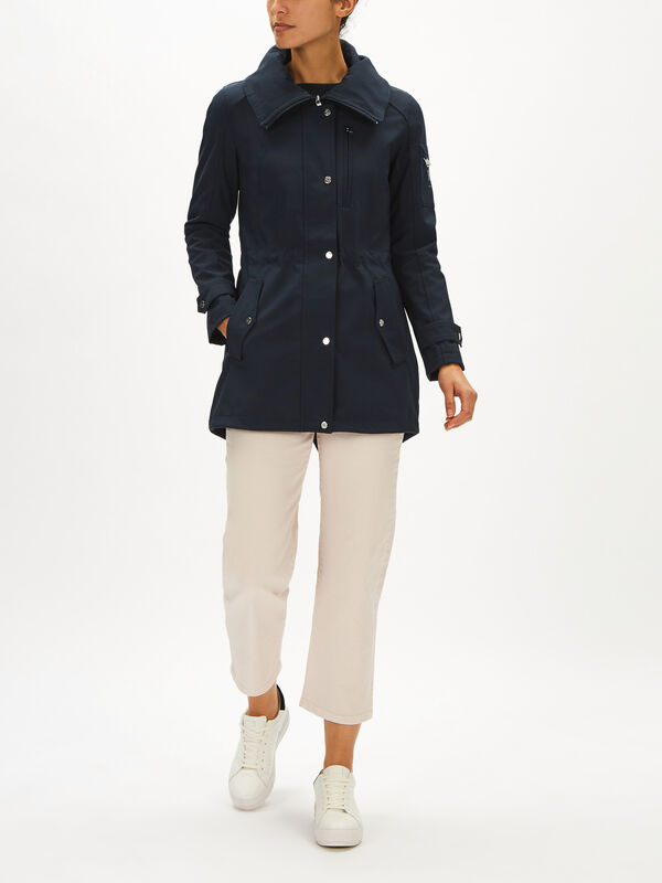 Fishtail Anorak Coat