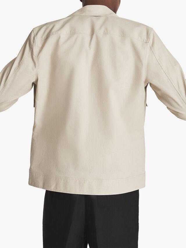 Kimchi Cotton Linen Blend Overshirt