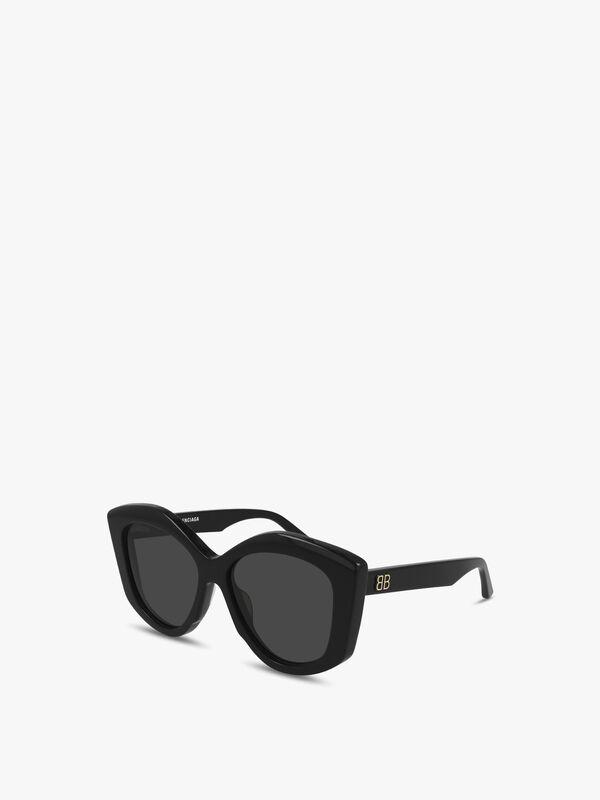 Deep Cat-Eye Acetate Sunglasses