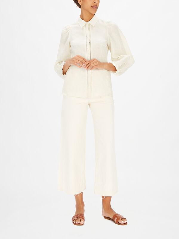 Edicola Embroidered Long Sleeve Shirt