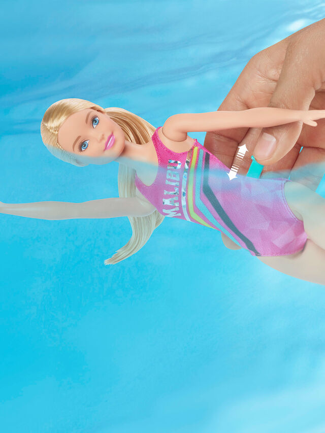 Dreamhouse Adventures Swim 'N Dive Doll