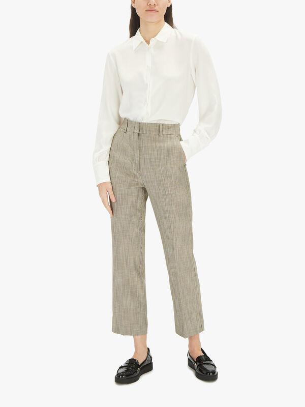 Ostuni Smart Kick Flare Trouser
