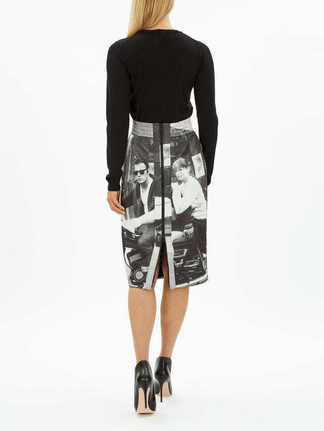 Graphic Skirt