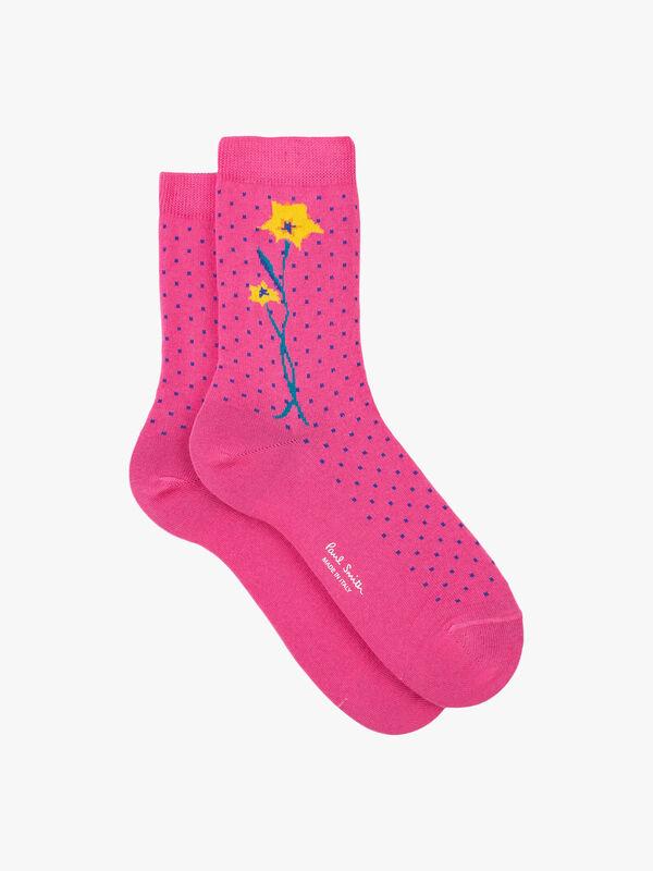 Aster Flower Sock
