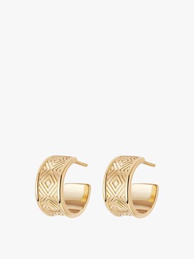 Artisan Chunky Hoop Earrings