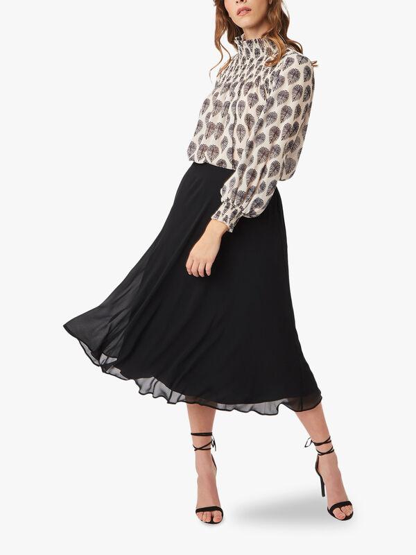 Chiffon Midi Skirt