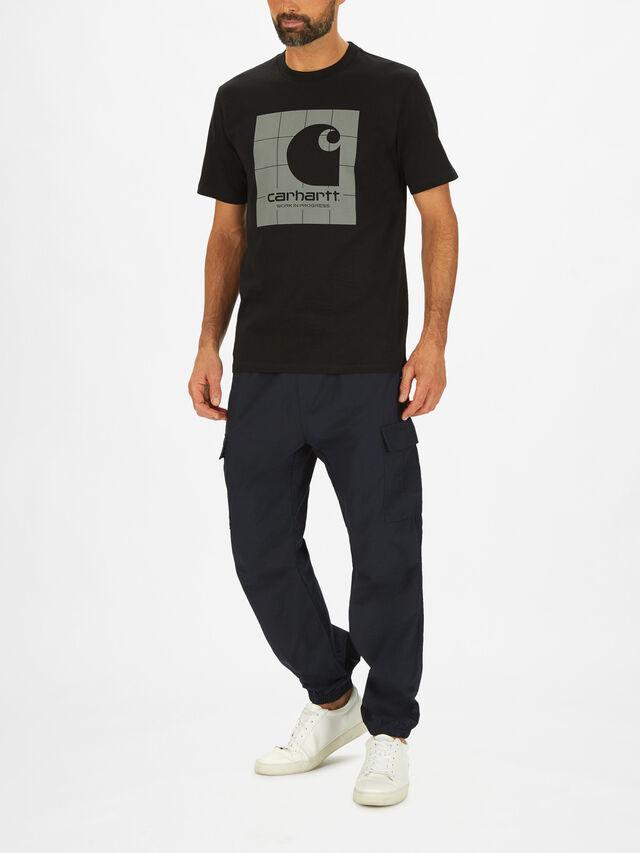 Short Sleeve Reflective Square T-Shirt