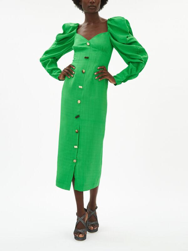Betty Puff Sleeve Dress