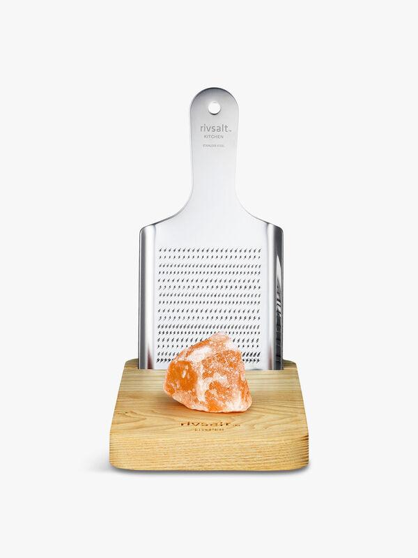 Kitchen  Salt Block and Grater 900g