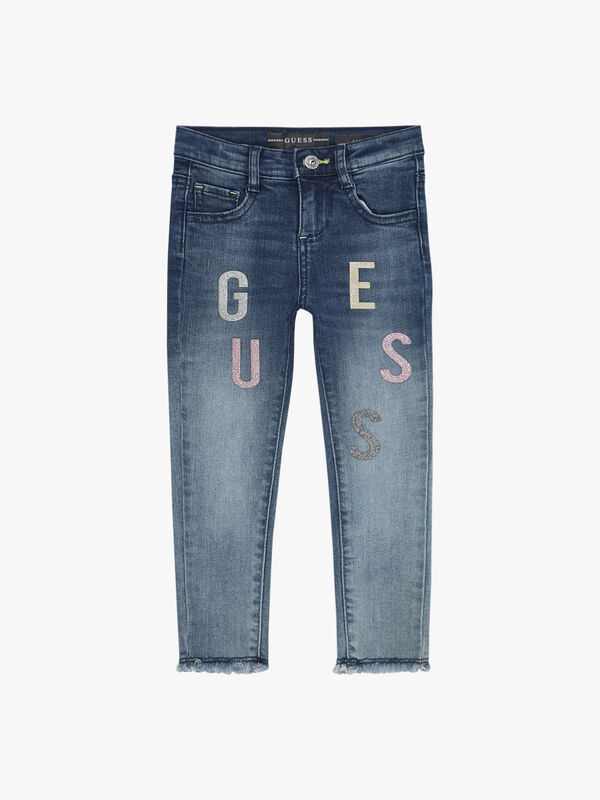 Skinny Jeans With Letters