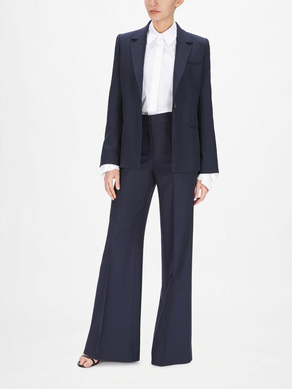 Slim Fit Wool Tailoring Jacket