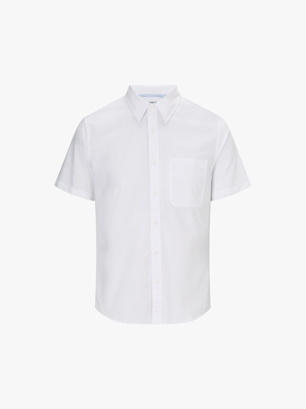Oxford Cotton Short-Sleeve Shirt