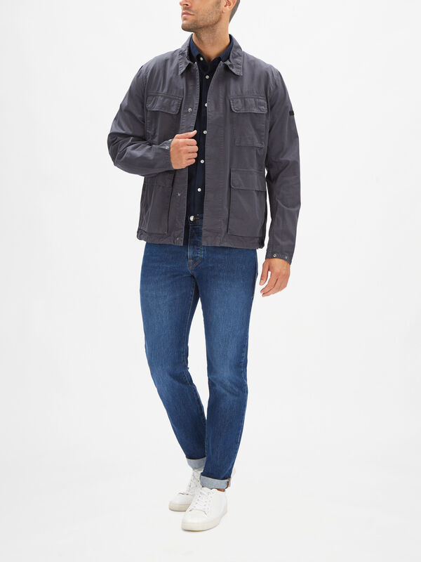 Dion Casual Overdyed Jacket