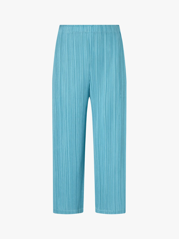 Wide Leg Capri Trousers