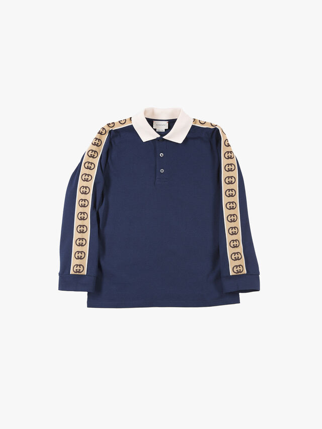 Long Sleeved Polo Stretch