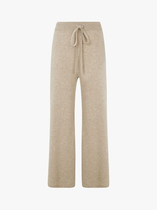 Genio Knitted Wide Leg Pant