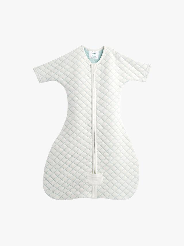 Snug Sleeved Sleeping Bag 1 5 Tog 0-3M Cream/Mint
