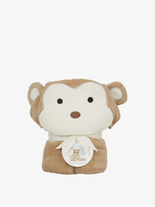 Monkey Baby Towel