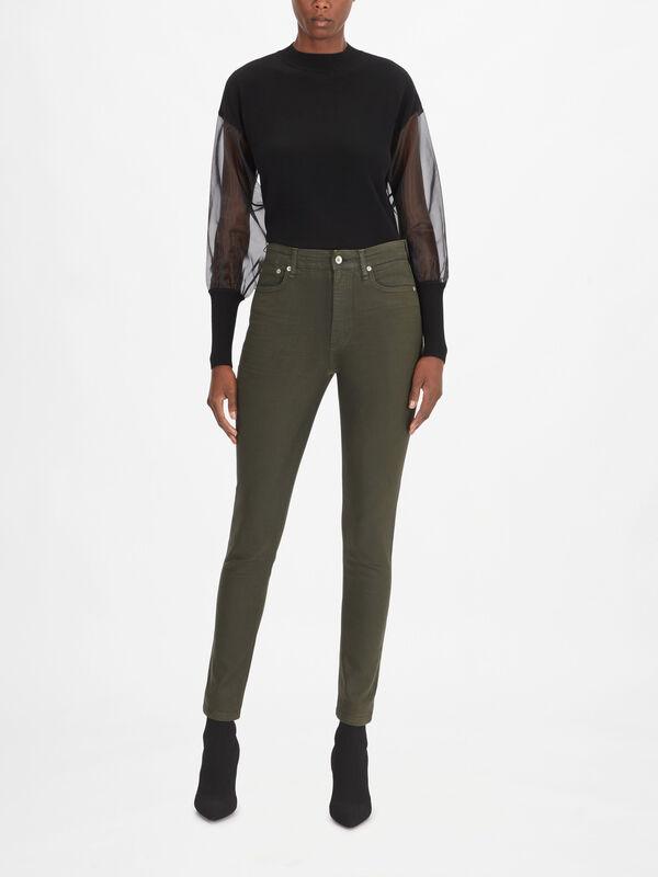 Nina High Rise Skinny Jeans