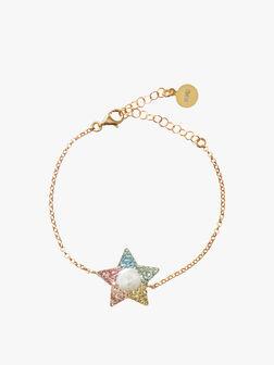 Rainbow Star Bracelet