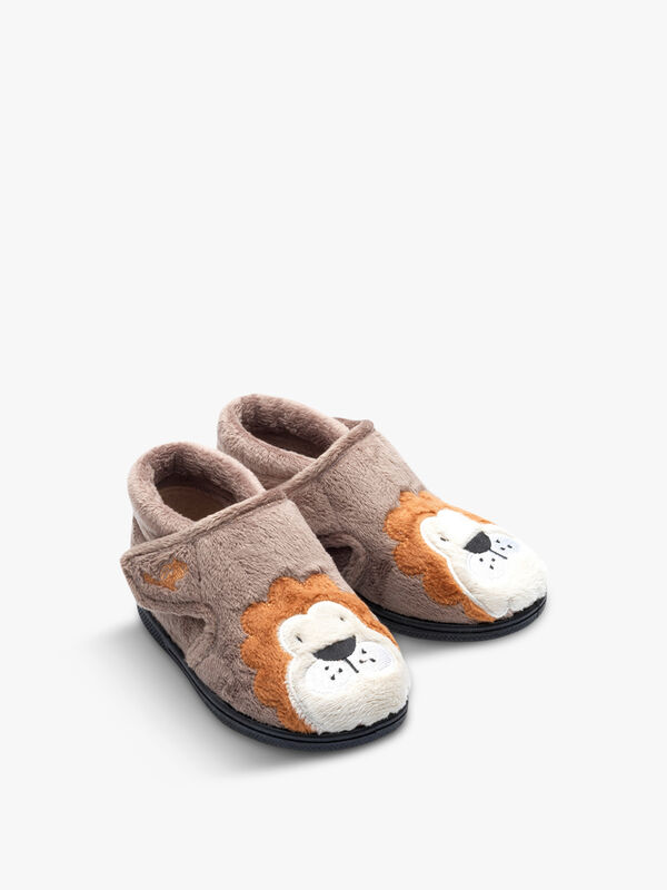 Lionel Lion Slippers