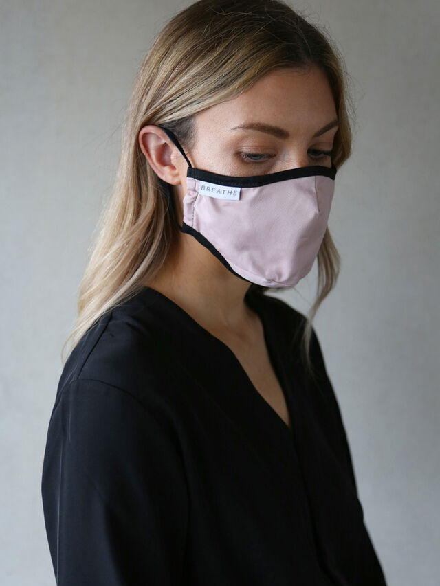 Adult  Face Mask Pink