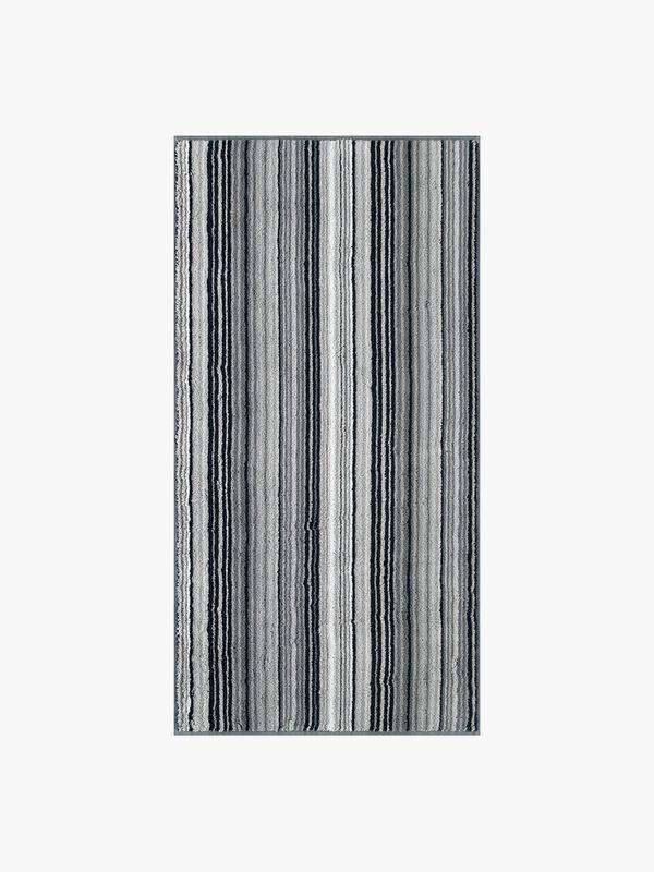 Two Tone Stripe Hand Towel