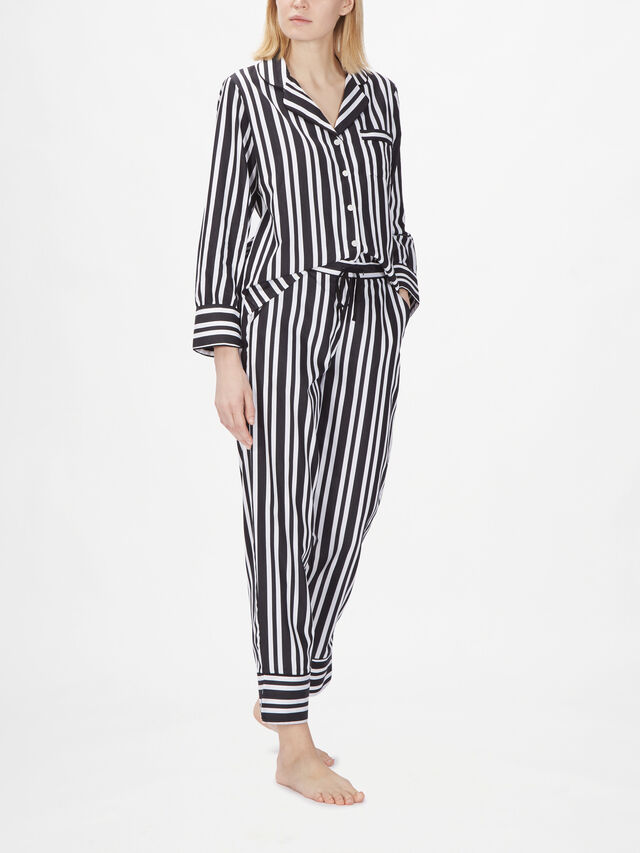 Kensington Long Sleeve Stripe PJ Set
