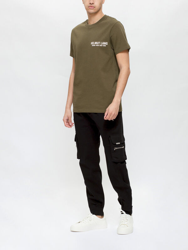 Strap Crewneck T-Shirt