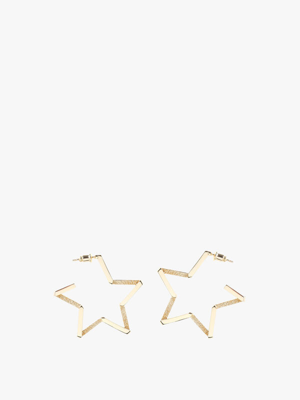 Exclusive Side Facing Star Earrings