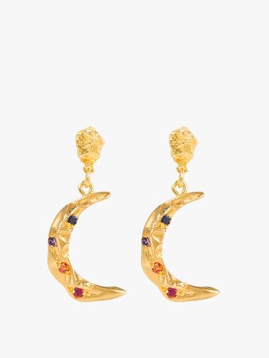 Melies Stardust Moon Earrings