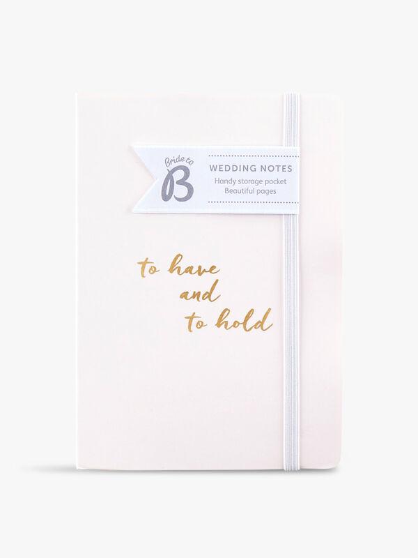 Wedding Notes Journal