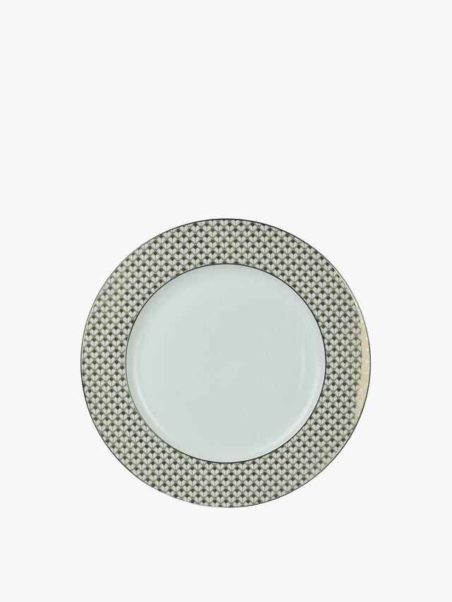Square Print Dinner Plate