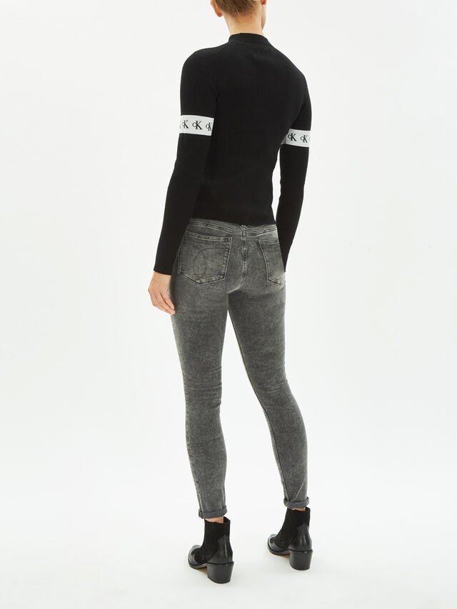 Monogram Tape Sweater