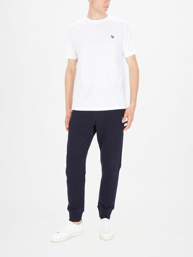 Organic-Cotton Zebra Logo T-Shirt