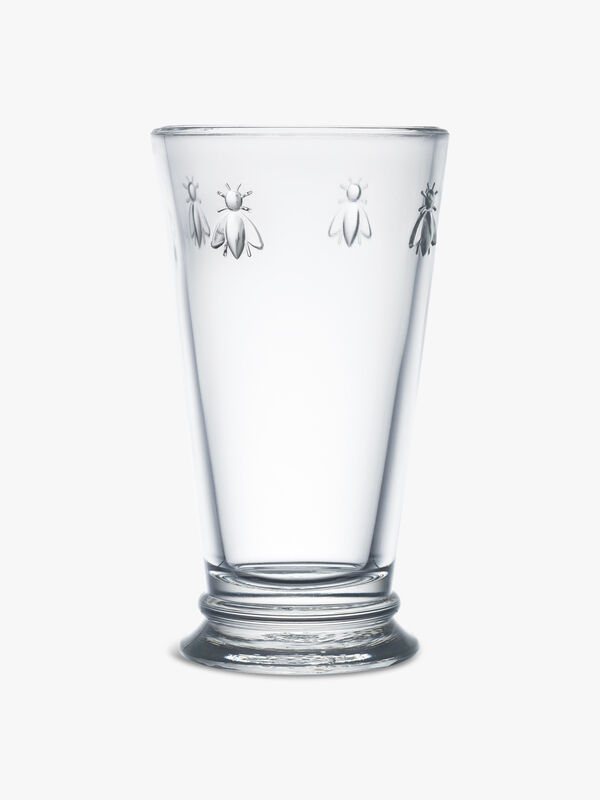 Bee Large Long Drink Glass