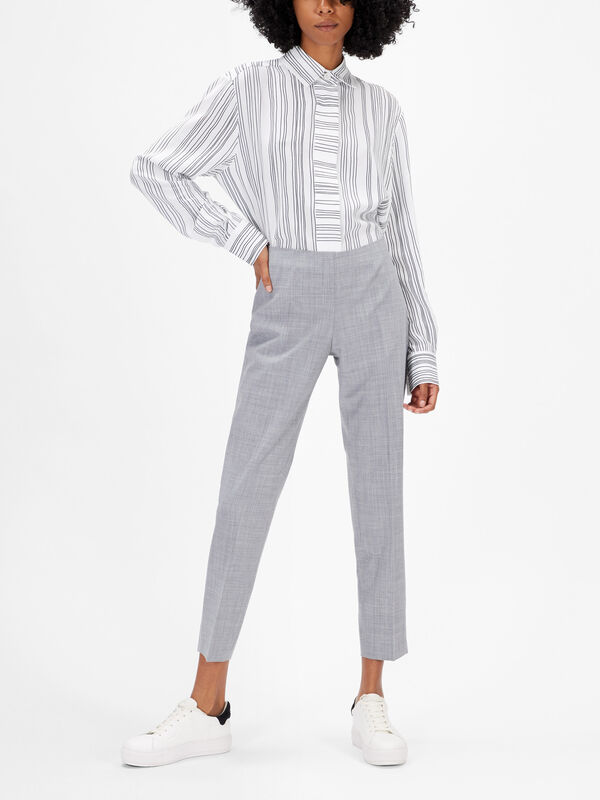 Emanuela Tropical Wool Trouser