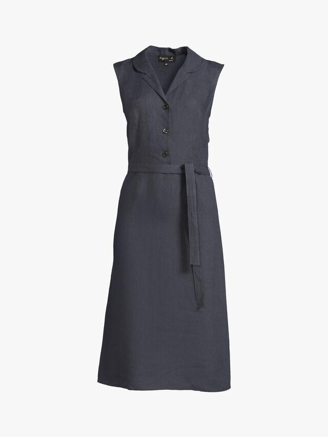Linen fran dress