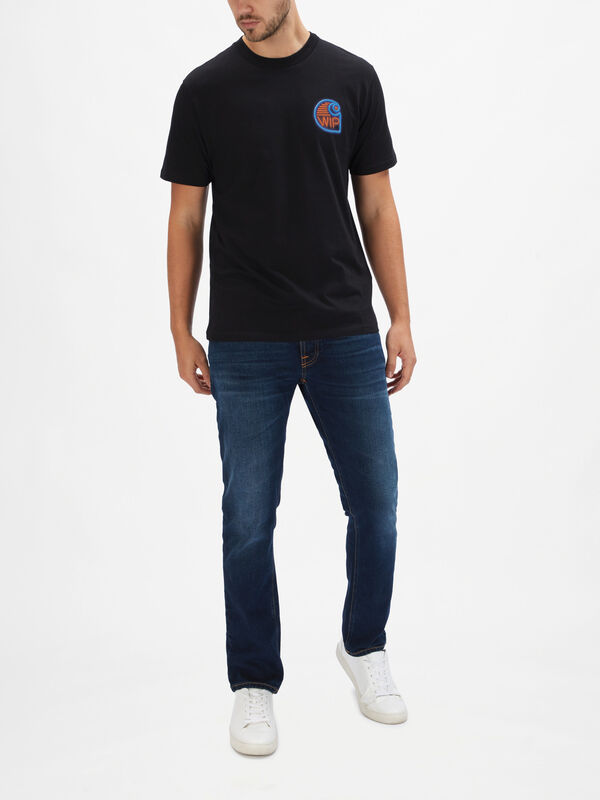 Short Sleeve Neon Crab T-Shirt